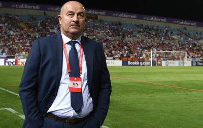 Черчесов назвал отсутствие перелетов плюсом проведения матча против сборной Швеции