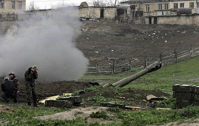 В Баку заявили о продолжающемся обстреле ВС Армении населенных пунктов в Карабахе