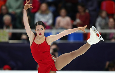 Фигуристка Константинова выступит на этапе Кубка России в Казани