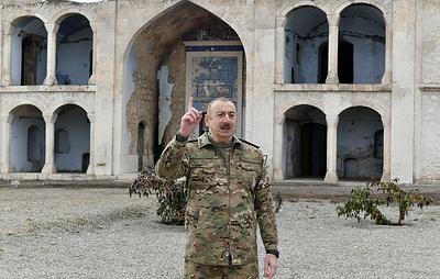 Алиев заявил о переходе Кельбаджарского района под контроль Азербайджана