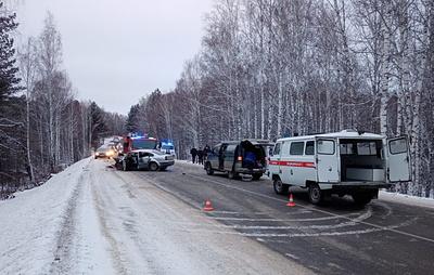 Один человек погиб и семеро пострадали в ДТП на юге Красноярского края