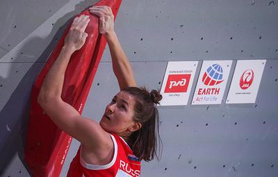 Мешкова: попадание на Олимпиаду важнее трех золотых медалей ЧЕ по скалолазанию