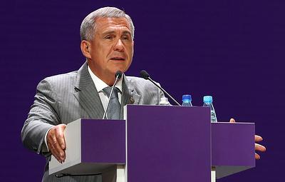 Минниханов провел заседание инвестиционного совета Республики Татарстан
