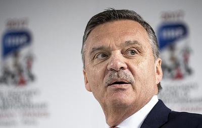 Фазель: Латвия хочет провести финал чемпионата мира 2021 года по хоккею