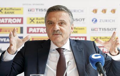 Международная федерация хоккея выплатит Белоруссии компенсацию в связи с переносом ЧМ