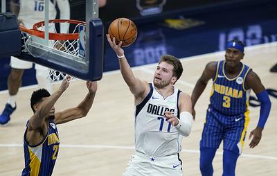 """Трипл-дабл Дончича помог """"Далласу"""" обыграть """"Индиану"""" в матче НБА"""