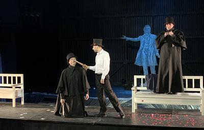 Архангельский театр драмы представил премьеру спектакля о Пушкине в необычном формате