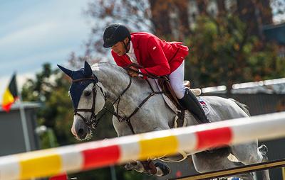 Россиянин Туганов выиграл международный турнир по конному спорту в Абу-Даби