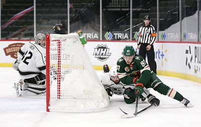 """Гол Капризова помог """"Миннесоте"""" одержать пятую подряд победу в нынешнем сезоне НХЛ"""