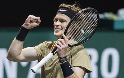 Теннисист Андрей Рублев заявил, что старается играть на максимуме своих возможностей