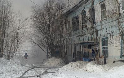 Пожар в жилом доме в Салехарде локализовали