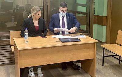 Прокурор просит приговорить Любовь Соболь к двум годам ограничения свободы