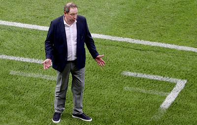 Слуцкий: надписи на форме футболистов Рубина не выдержали чистого и экологического дождя