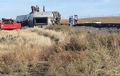 Три человека погибли в результате ЧП с поездом в штате Монтана