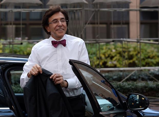 Belgian Prime Minister Elio Di Rupo