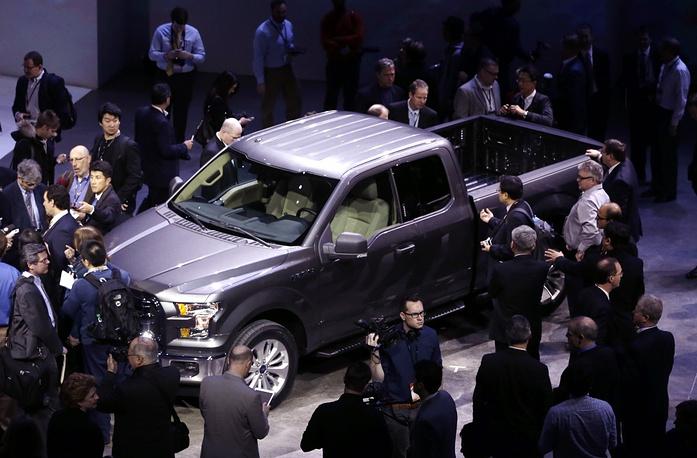 Ford F-150 pickup presentation
