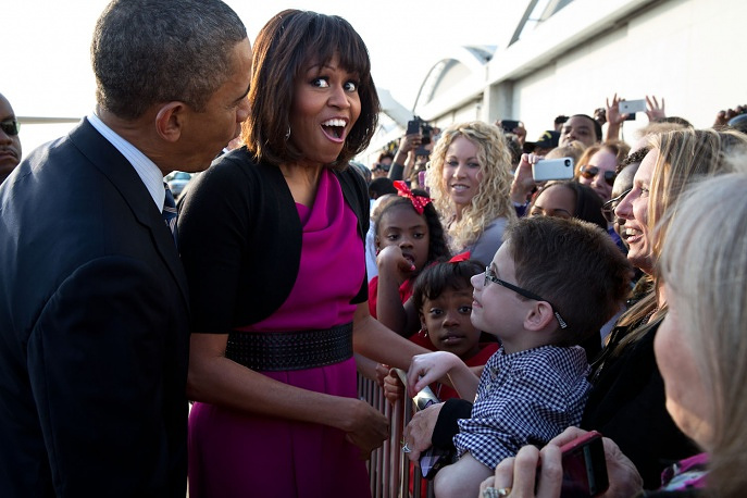 The First Lady is an active participant of various campaigns devoted to children