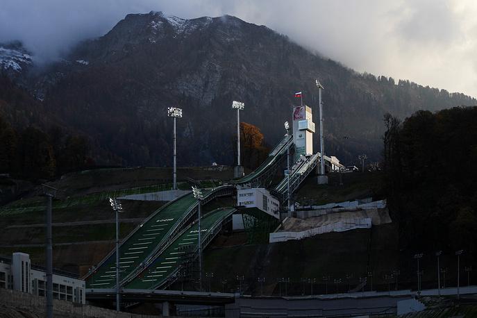 RusSki Gorki ski jumping center (literally Russian Ski Mountains) boasts the most advanced Olympic ski jump hills