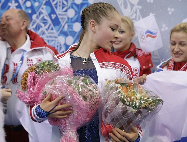 Yulia Lipnitskaya in Sochi