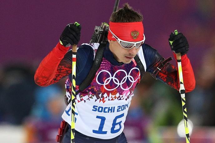 Russian biathlete Yevgeny Ustyugov