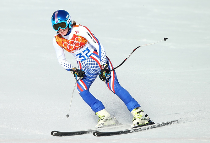 Russia's Elena Yakovishina finished 28th