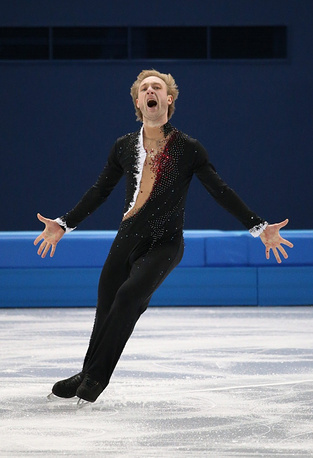 Short program at team competition, Sochi Olympics