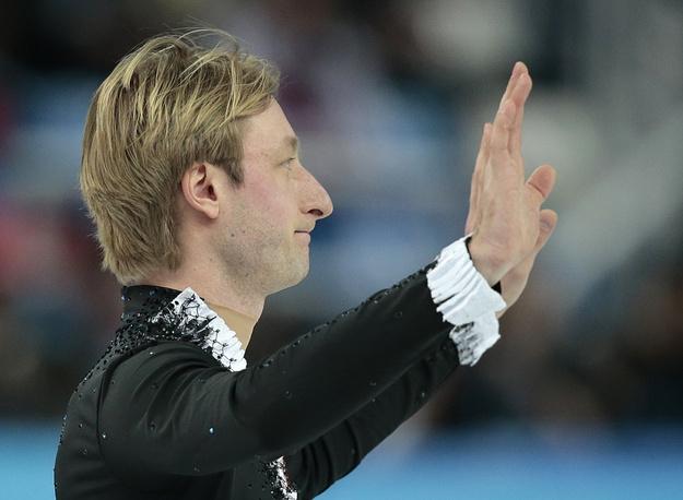 Evgeni Plushenko withdrew from men's singles Olympic tournament