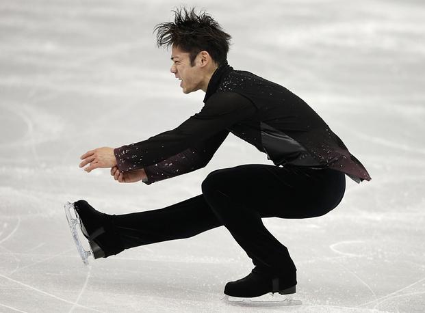 Japanese skater Daisuke Takahashi (86.40)