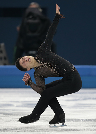 Chinese skater Yan Han (85.66)