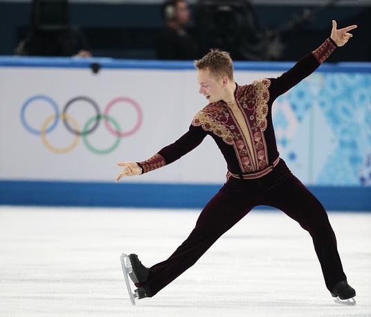 Sweden's Alexander Majorov (83.81)