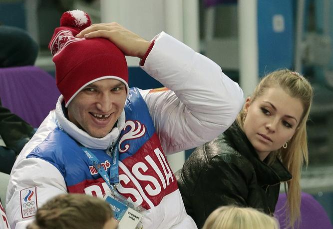 Russian hockey player Alexander Ovechkin is dating Russian tennis player Maria Kirilenko
