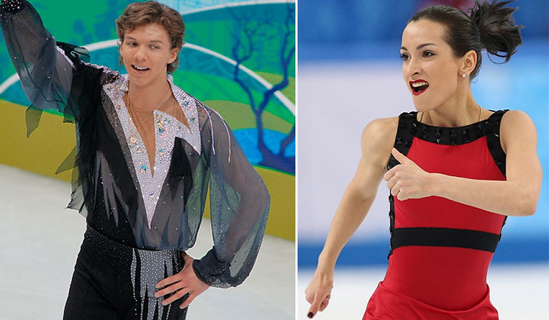 Russian ficgure skaters Kseniya Stolbova and Dmitry Solovyov are also romantically involved