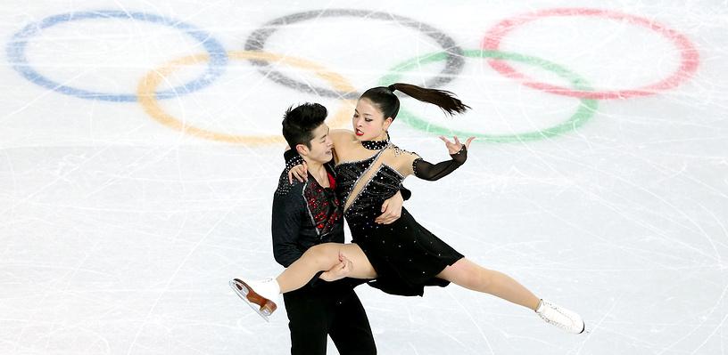 Maia Shibutani and Alex Shibutani of the USA