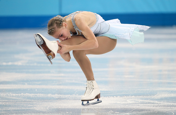 Polina Edmunds of USA