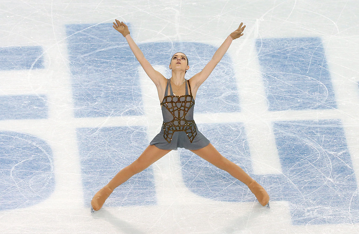 Adelina Sotnikova of Russia