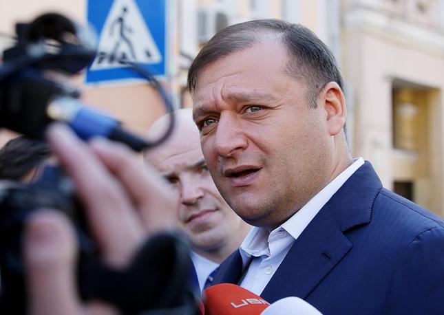 Former governor of the Kharkiv region Mykhailo Dobkin