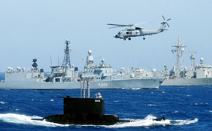 Operation 'Active Endeavour' in the Mediterranean Sea in 2001