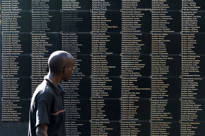 A memorial in Rwanda's capital, May 2012