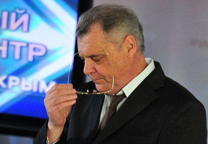 Chairman of Crimea's central election committee Mikhail Malyshev