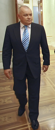 Head of official Russian news agency Rossiya Segodnya Dmitry Kiselyov