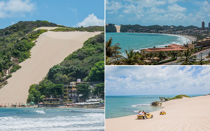 Natal is the capital and largest city of Rio Grande do Norte. It was founded in 1599 and has a population of 850,000 people. The name of the city means 'Christmas' in Portugese