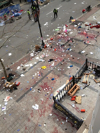 The bombs that exploded in Boston were self-made, metal devices were used as strike elements