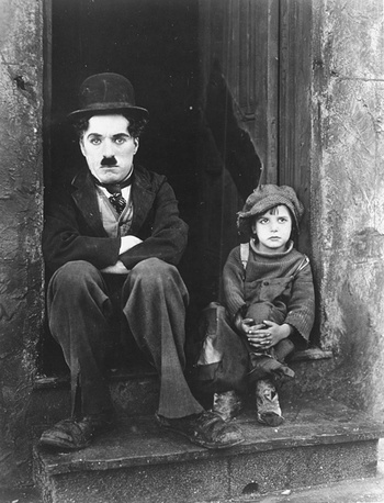 Chaplin's first full length director's work was 'The Kid' (1921)