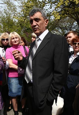 Sevastopol Governor Sergei Menyailo