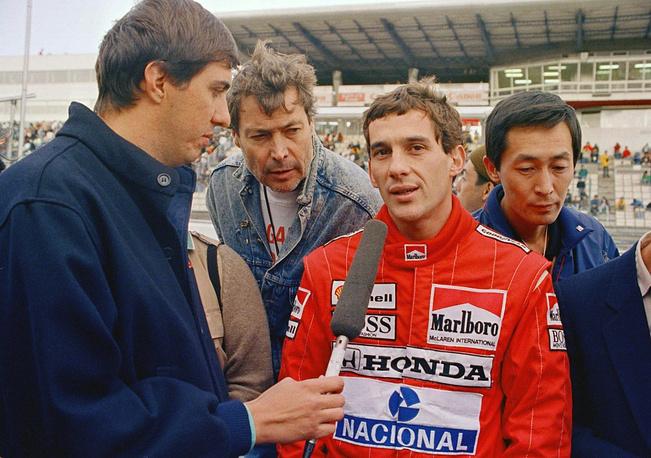 With McLaren, Senna begame world champion three times (1988, 1990, 1991).