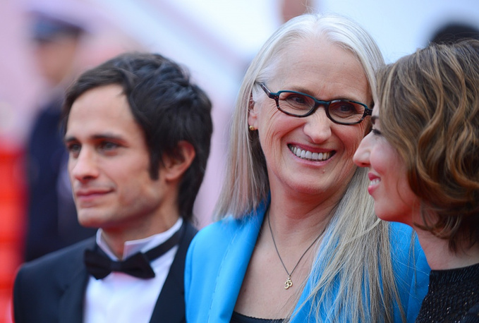 Jury members Gael Garcia Bernal, Jane Campion and Sofia Coppola