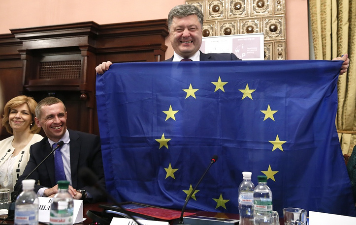 Poroshenko supports the course for Ukraine's integration into Europe