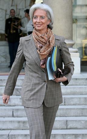 Managing Director of the International Monetary Fund Christine Lagarde