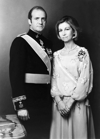 King Juan Carlos and Queen Sophia