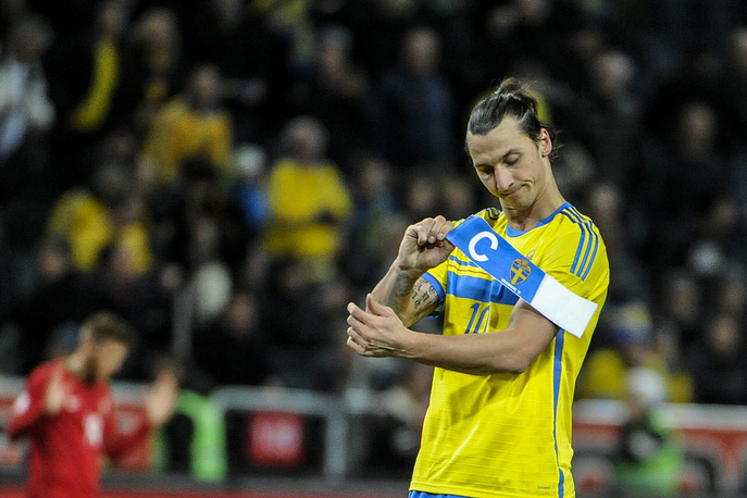 Zlatan Ibrahhimovic will miss the World Cup, as his national team, Sweden, lost to Portugal and failed to qualify for the event